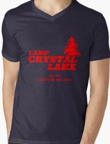 Camp Crystal Lake Mens V-Neck T-Shirt