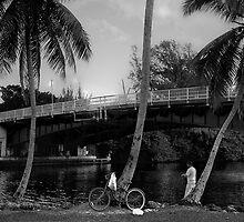 Hand-Line Fishing by njordphoto