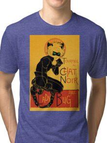 Black Cat and the Ladybug Tri-blend T-Shirt