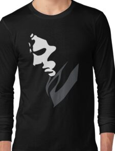 Mysterious with Cheekbones Long Sleeve T-Shirt