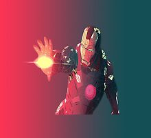 Iron man polygon by Yogivision