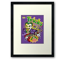 Tricks Framed Print