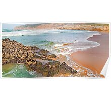 guincho beach colors Poster