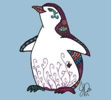 Penguin in Sharpie  Kids Clothes