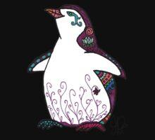 Penguin in Sharpie  Kids Clothes