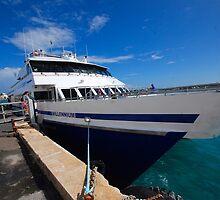 """Rhode Island Fast Ferry """"Millennium"""" by John Schneider"""
