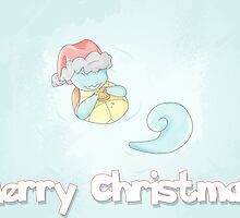 Squirtle Christmas by Samantha Royle