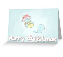 Squirtle Christmas Greeting Card