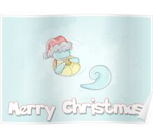 Squirtle Christmas Poster