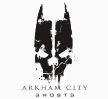 Arkham City Ghosts - Black by Adam Angold