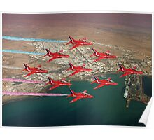 The Red Arrows - Diamond 9 Poster