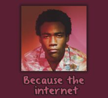 "Childish Gambino ""Because The Internet"" by GoIdie"