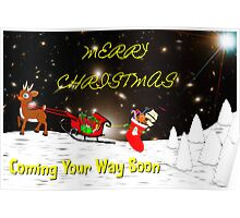 Merry Christmas - Coming Your Way Soon Poster