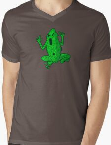 Circuit Frog Mens V-Neck T-Shirt
