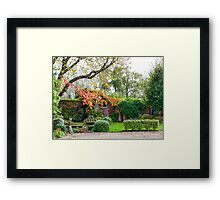 Autumn Corner Framed Print