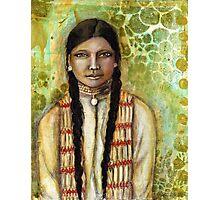 Indian Woman {acrylic} Photographic Print