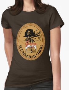Grog, Is Good For You Womens Fitted T-Shirt