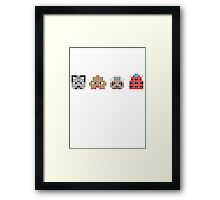 PIXEL8 | Who's Who Dr Framed Print