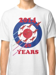 50 Years Of The Red Arrows Tee Shirt Classic T-Shirt