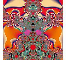 Red Meditation Photographic Print
