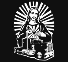 Keep On Truckin' Jesus! by robotface