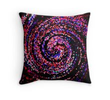 Mosaic twirl Throw Pillow