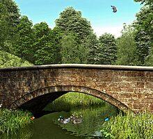 Stone Bridge by Walter Colvin