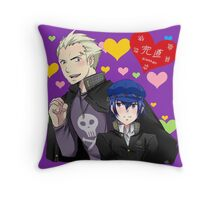 Kannao and Hearts Throw Pillow