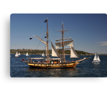 Windeward Bound, Sydney Harbour, Australia 2013 Canvas Print