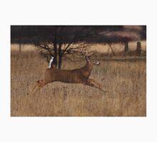 Grass Hopper - White-tailed Deer One Piece - Short Sleeve