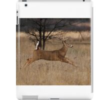 Grass Hopper - White-tailed Deer iPad Case/Skin