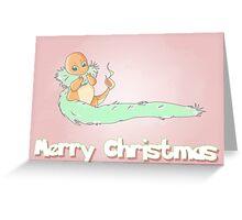 Charmander Christmas Greeting Card