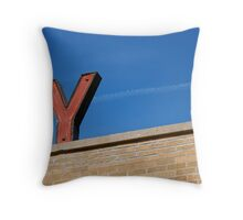 Y Throw Pillow