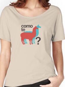 Como te llamas? Women's Relaxed Fit T-Shirt