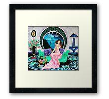 The Engagement - Mucha Framed Print