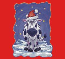 Cow Christmas Kids Clothes