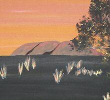 """""""Uluru"""" by Julie Gilmore"""