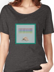 1-877-GET-ON-DOWN Women's Relaxed Fit T-Shirt