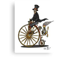 STEAMPUNK PENNY FARTHING BICYCLE Canvas Print