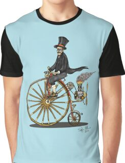 STEAMPUNK PENNY FARTHING BICYCLE Graphic T-Shirt