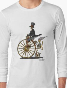 STEAMPUNK PENNY FARTHING BICYCLE Long Sleeve T-Shirt