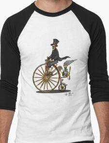 STEAMPUNK PENNY FARTHING BICYCLE Men's Baseball ¾ T-Shirt