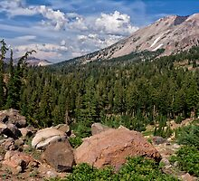 Mt. Lassen and Vulcan's Castle by Kathleen Bishop