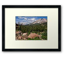 Mt. Lassen and Vulcan's Castle Framed Print