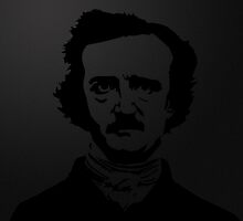 Edgar Allen Poe by Raccoon-god