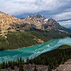 Peyto Lake by Kathleen Bishop