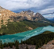 Peyto Lake by Kathleen Bishop