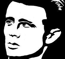 James Dean -  by Genovee by ArtGenovee