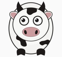 Little Cute Cow Kids Clothes