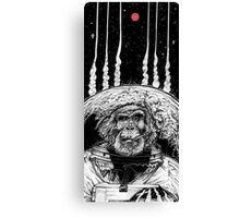 Space Monkey Canvas Print